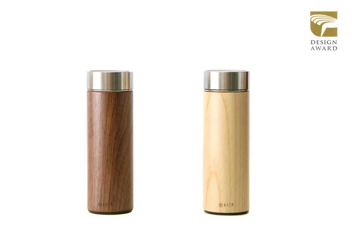 木入三分|兩倆一起 汋飲保溫瓶-胡桃&栓木  330ML