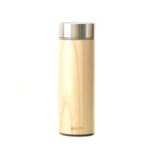 木入三分|汋飲保溫瓶(栓木)  330ML