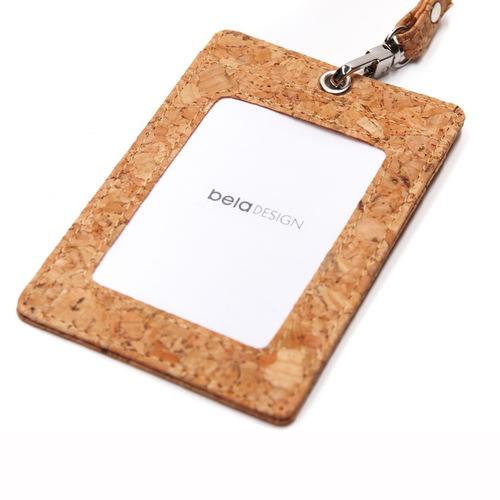 Beladesign│軟木識別證夾