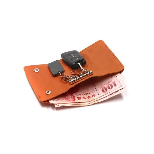 Beladesign│鑰匙錢包-棕色