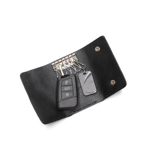 Beladesign│鑰匙錢包-黑色