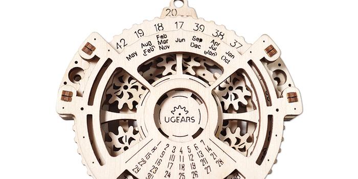 Ugears|自我推進模型 Date navigator 日期領航者