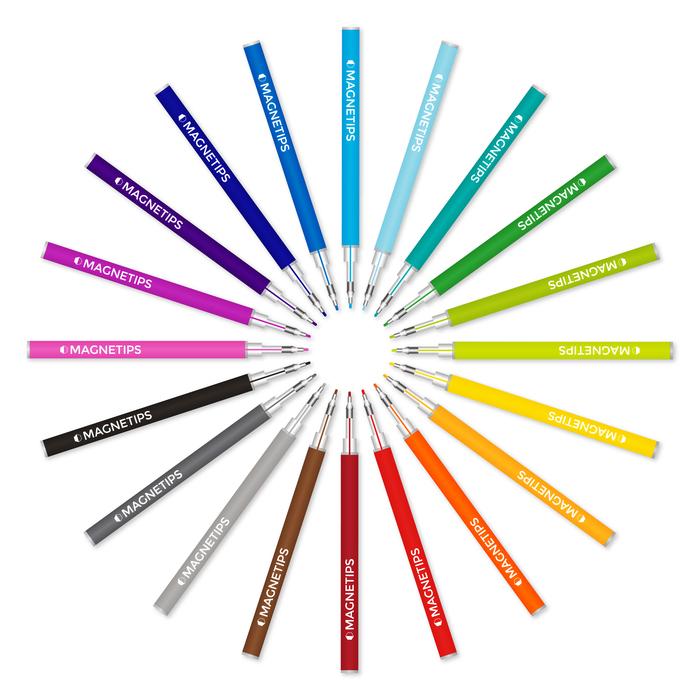 (複製)MAGNETIPS|不可思議的磁性筆 - 20色黑彩版