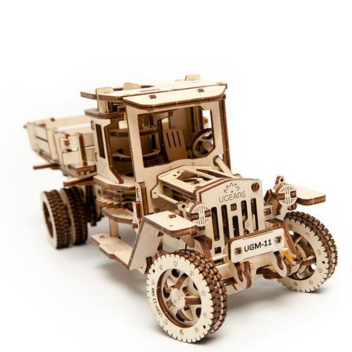 Ugears| 自我推進模型 Truck UGM-11 四輪驅動卡車