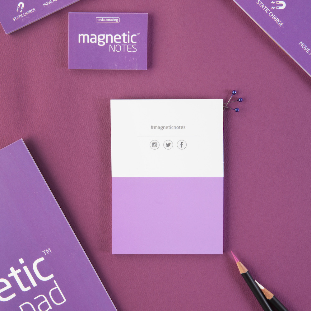 Tesla Amazing|Magnetic Notes S-Size 磁力便利貼