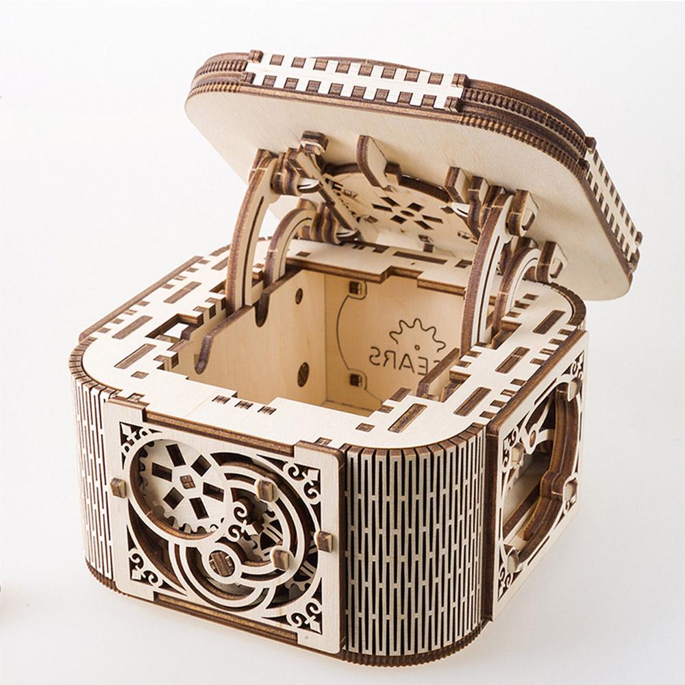 Ugears|自我推進模型 Treasure box 珠寶盒