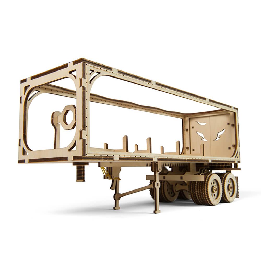 Ugears|自我推進模型 重裝教父VM-03配件-拖車