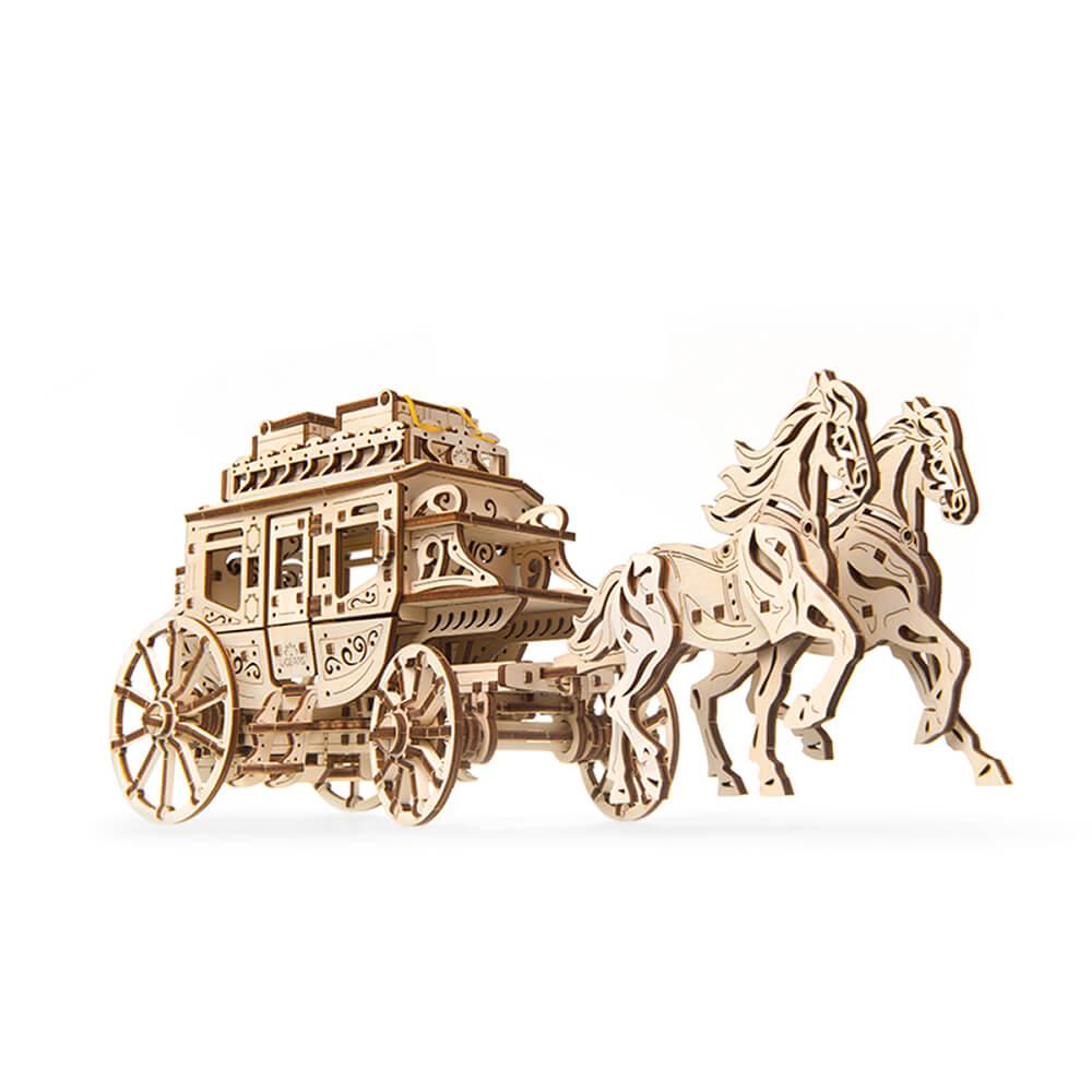 Ugears|自我推進模型 灰姑娘馬車