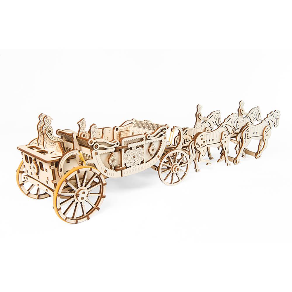 Ugears|自我推進模型 皇家馬車