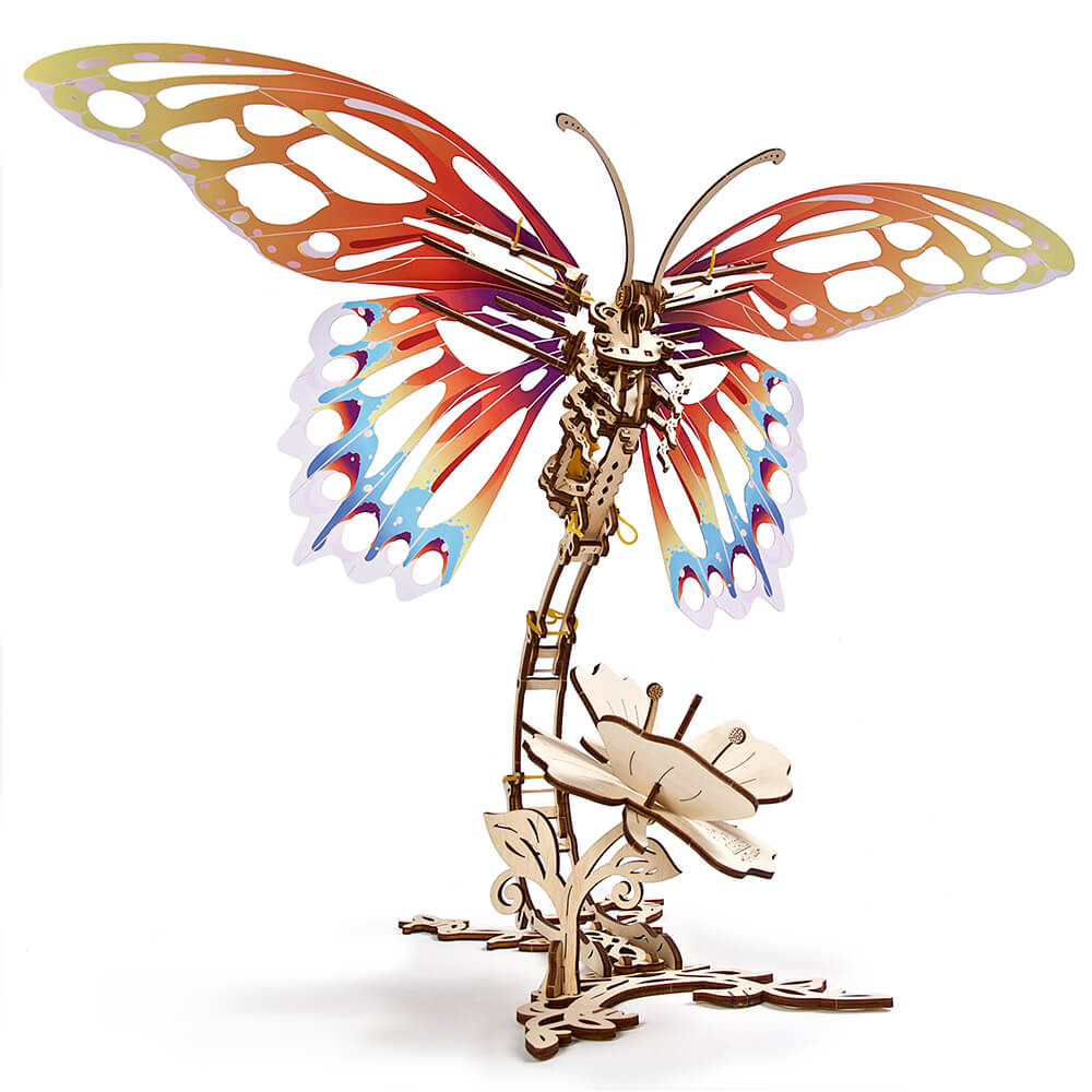 Ugears| 自我推進模型 Butterfly蝴蝶
