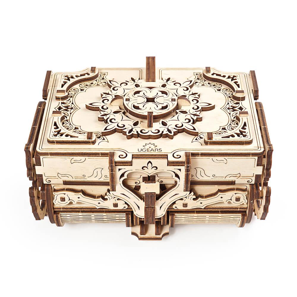 Ugears|自我推進模型 Antique Box 古董盒