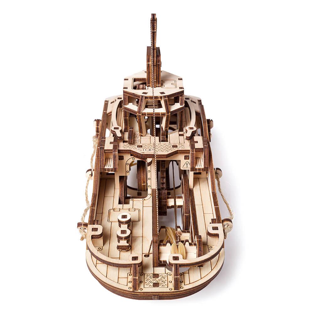 Ugears|自我推進模型 Tugboat 西奥多拖船