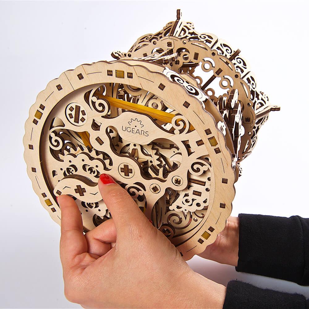 Ugears|自我推進模型 The Carousel 霍爾斯的旋轉樂園