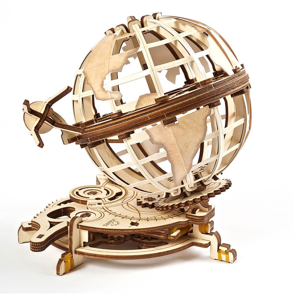 Ugears|自我推進模型 Globus 旋轉的蓋亞星球