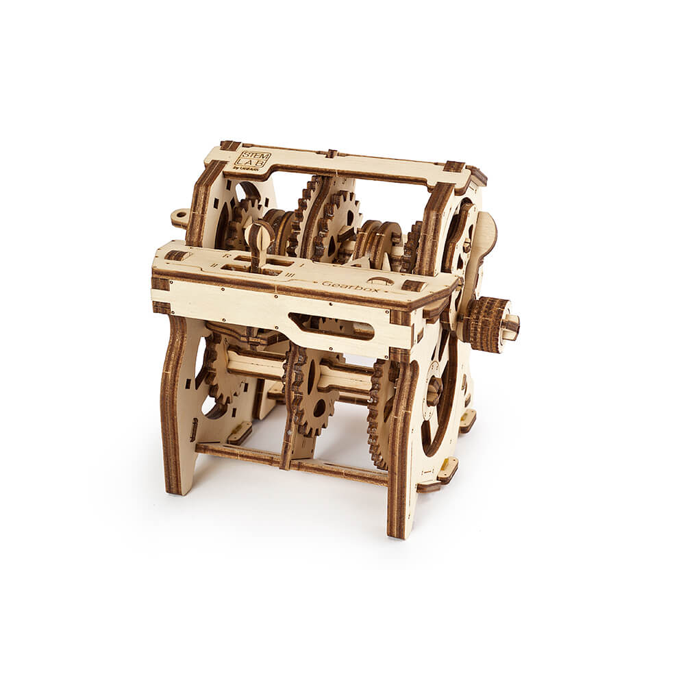 Ugears|自我推進模型 Gearbox 神奇變速箱