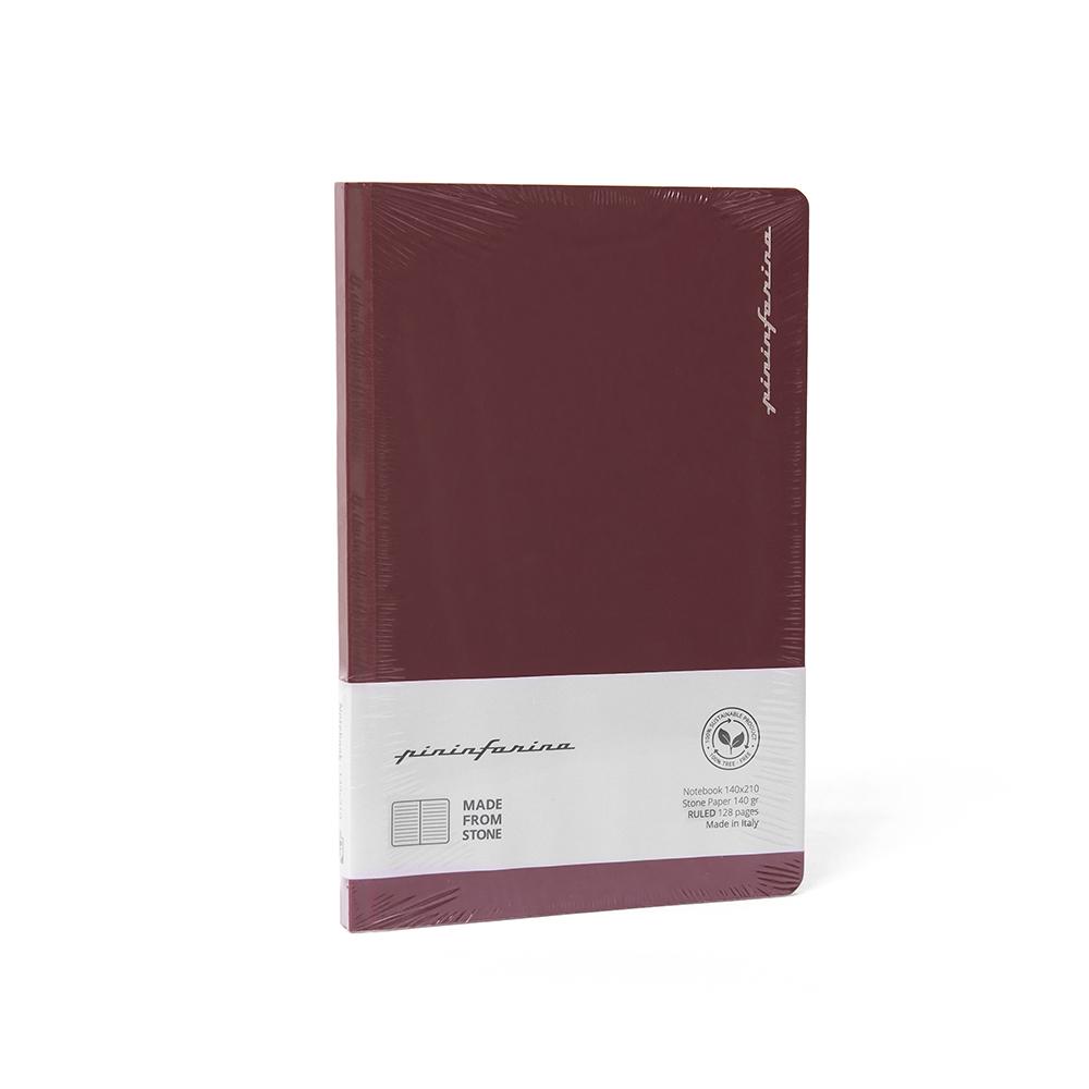 NAPKIN|Pininfarina Segno 石頭紙筆記本 - 紅