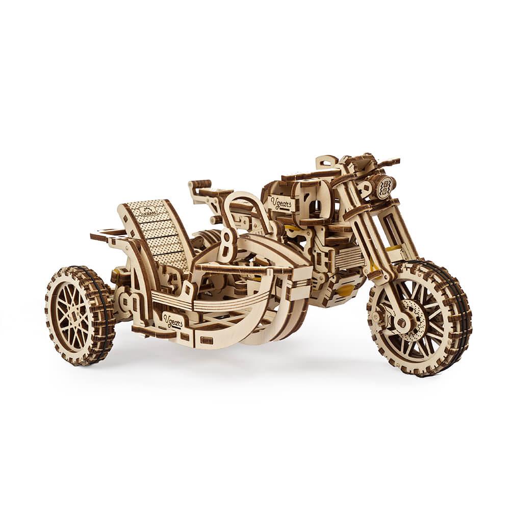 Ugears|自我推進模型 Scrambler UGR-10 靈魂騎士