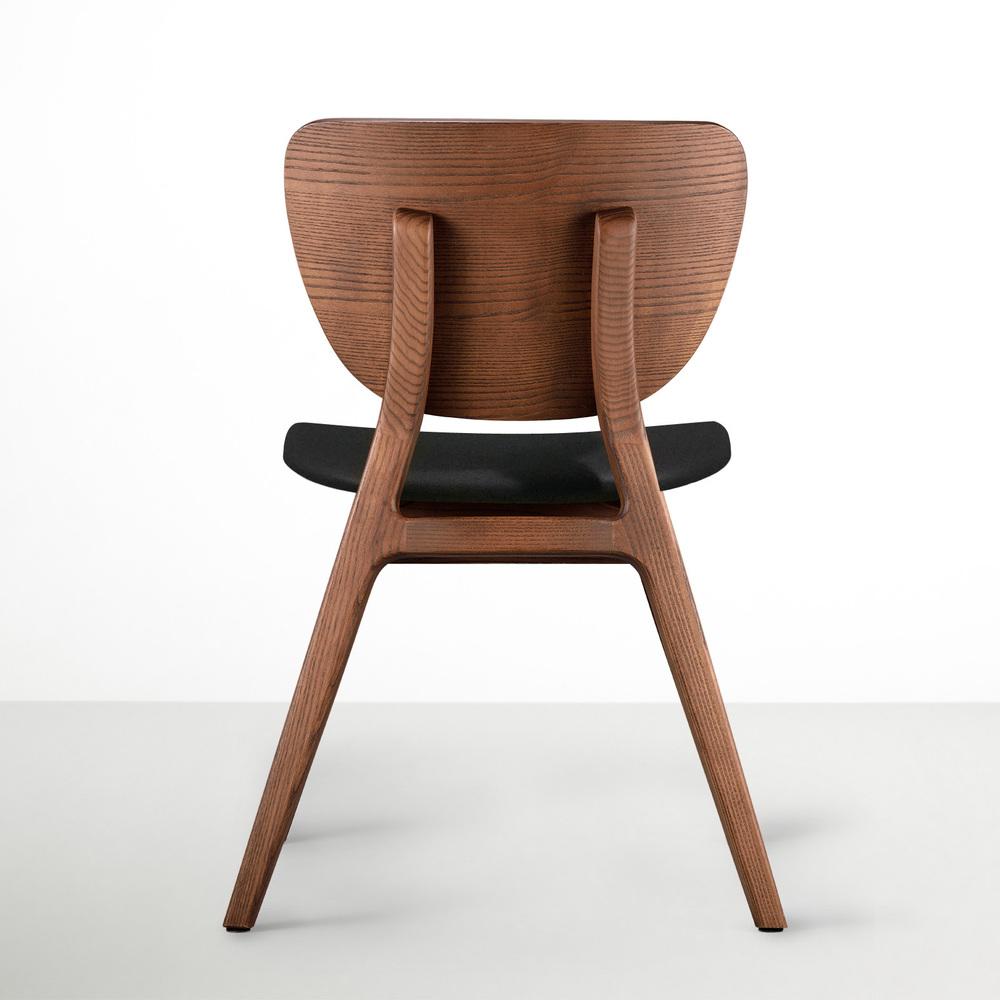 viithe|Fit L 斐特餐椅-皮革版(胡桃色)
