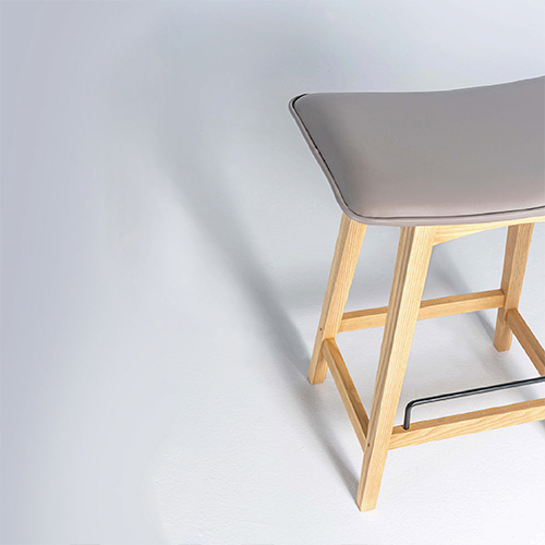 viithe| Tacit Bar Stool  默契吧椅 (自然色)