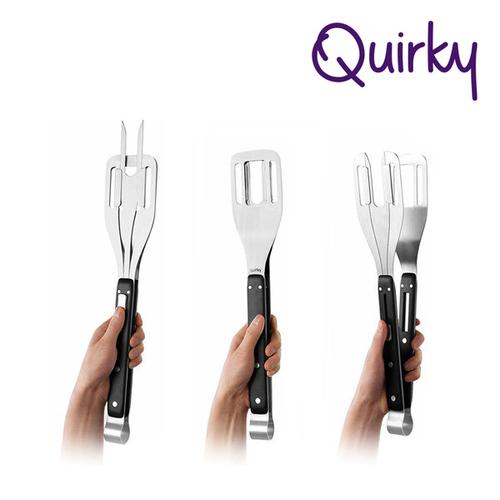 巧趣Quirky 三合一烤肉夾 GRILL WRANGLER
