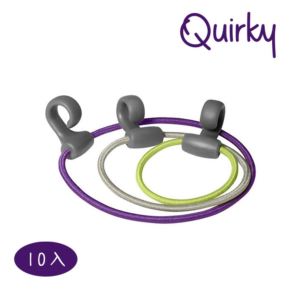 巧趣Quirky 帶鉤彈力圈(10個入) BANDITS-10PCS