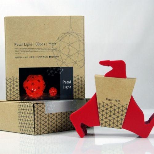 GEWAY|擁瓣燈飾燈片 Petal Light(80片/紅)