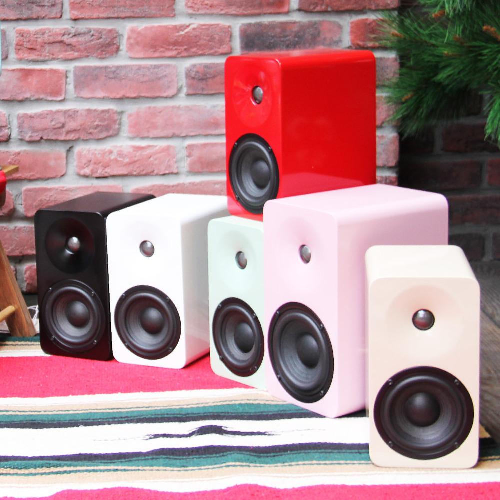 MINFORT|MIN16 手工實木無線藍芽音響(烤漆款)