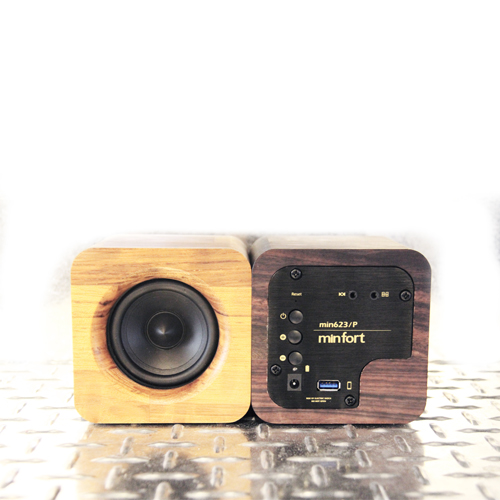 MINFORT|MIN622 小小實木藍芽音響