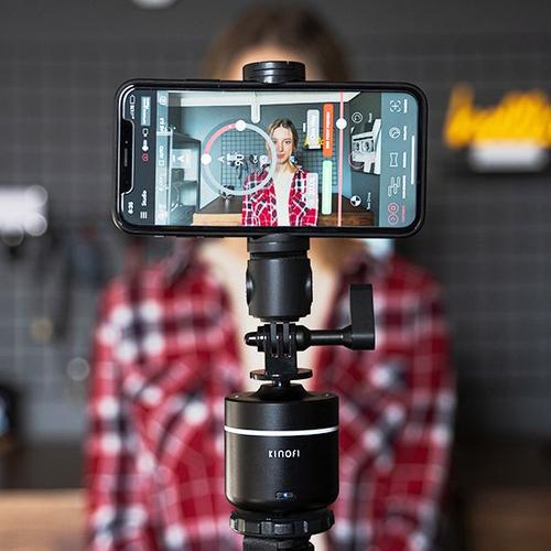 【集購】 Kinofi|Lumi mark手機相機專用全景360度智慧雲台