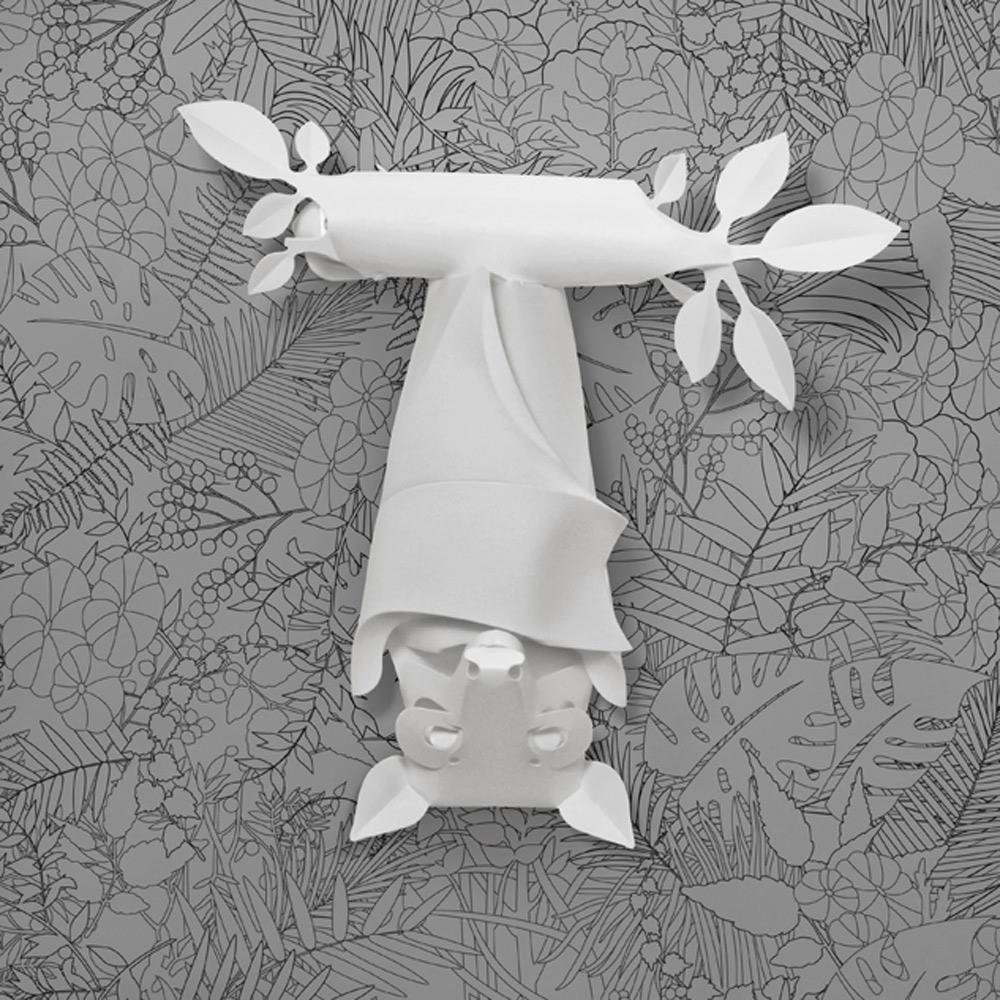 島民|灰頭狐蝠燈罩(附小夜燈)