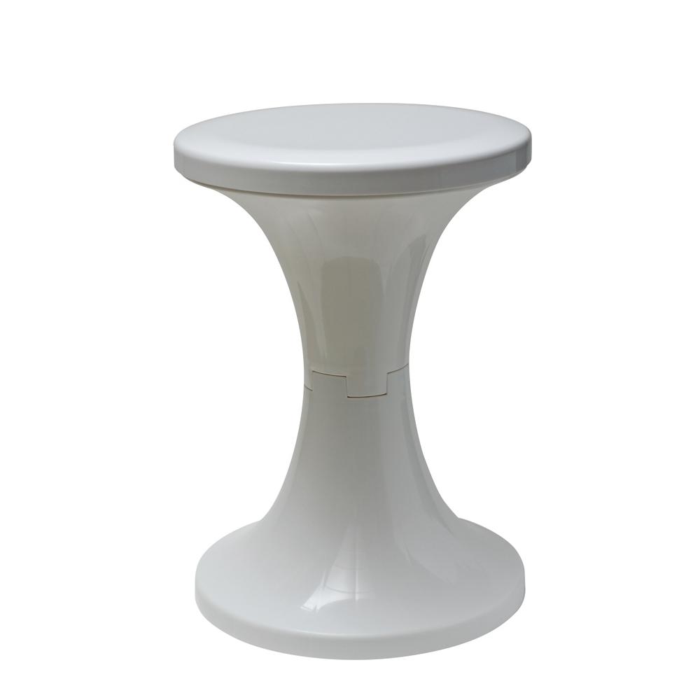 島民 佛朗明哥椅凳 4入(白)