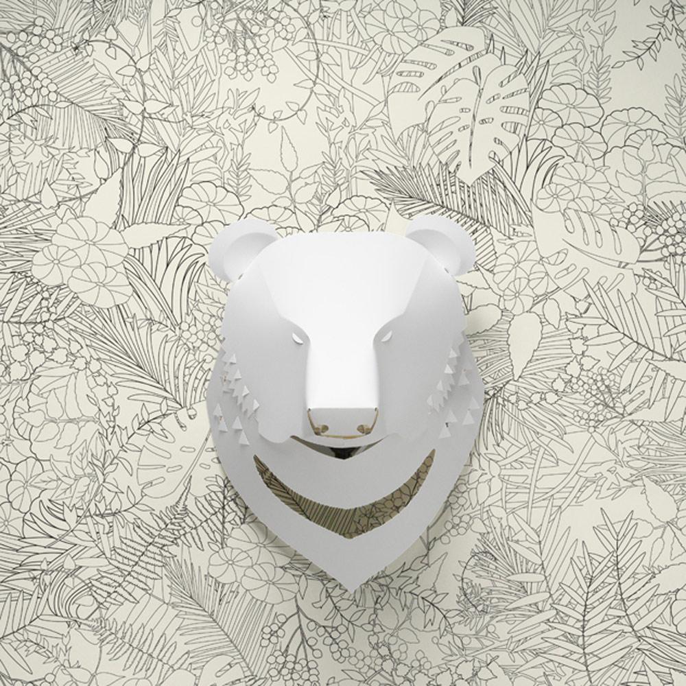 島民 台灣黑熊燈罩+電線組