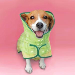 島民|寵物風衣式雨衣(母狗專用)- M