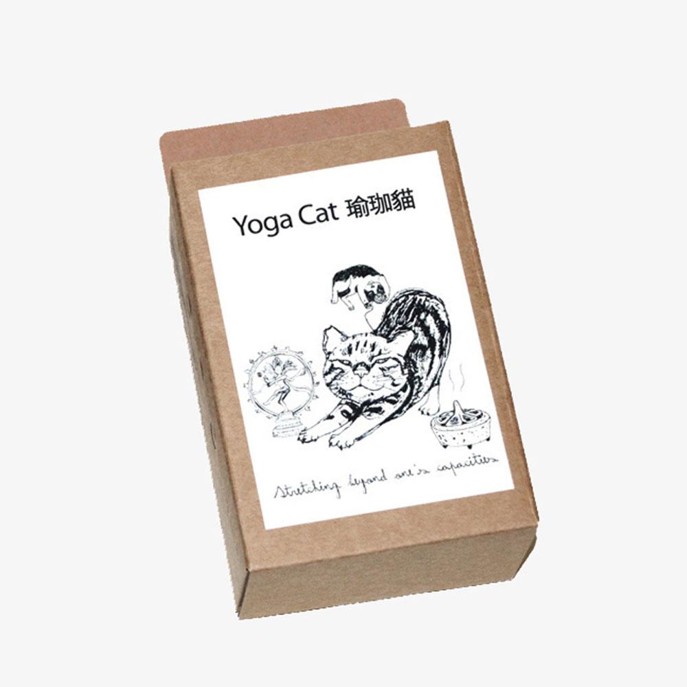 島民|棉布袋 - Yoga Cat 瑜珈貓