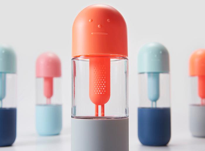 Sticky Monster Lab X 11+│Monster Bottle 花生米人水瓶