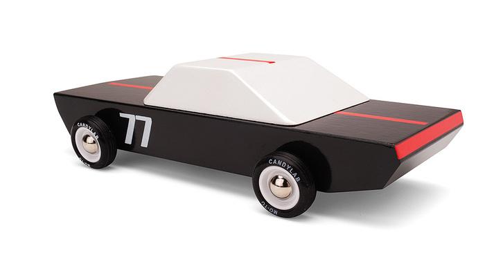 Candylab│復古木製玩具車 - Carbon 77