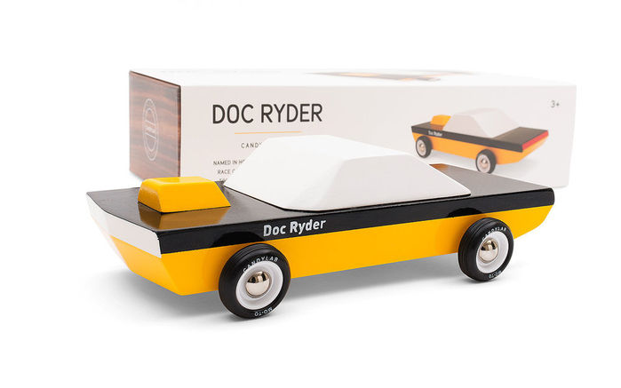Candylab│復古木製玩具車 - Doc Ryder