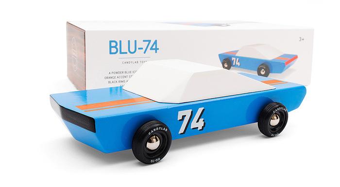 Candylab│復古木製玩具車 - Blu 74