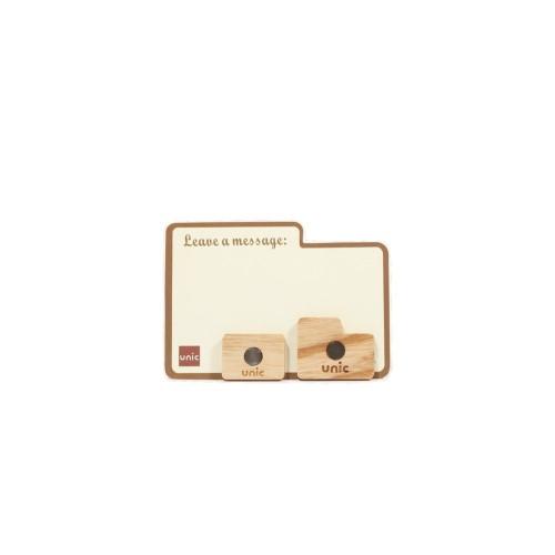 Unic|天然原木造型磁鐵(Enter/Shift鍵)+精品禮卡