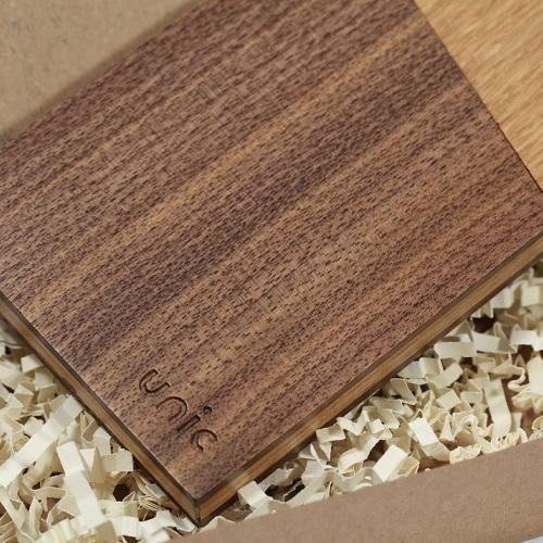 Unic|原木拼接設計名片盒
