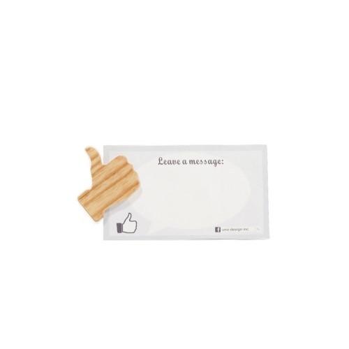 Unic|天然原木造型磁鐵(FB讚)+精品禮卡
