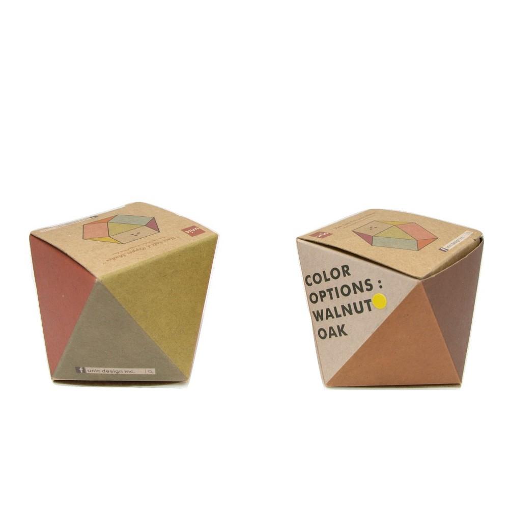 Unic|原木幾何造型調味罐