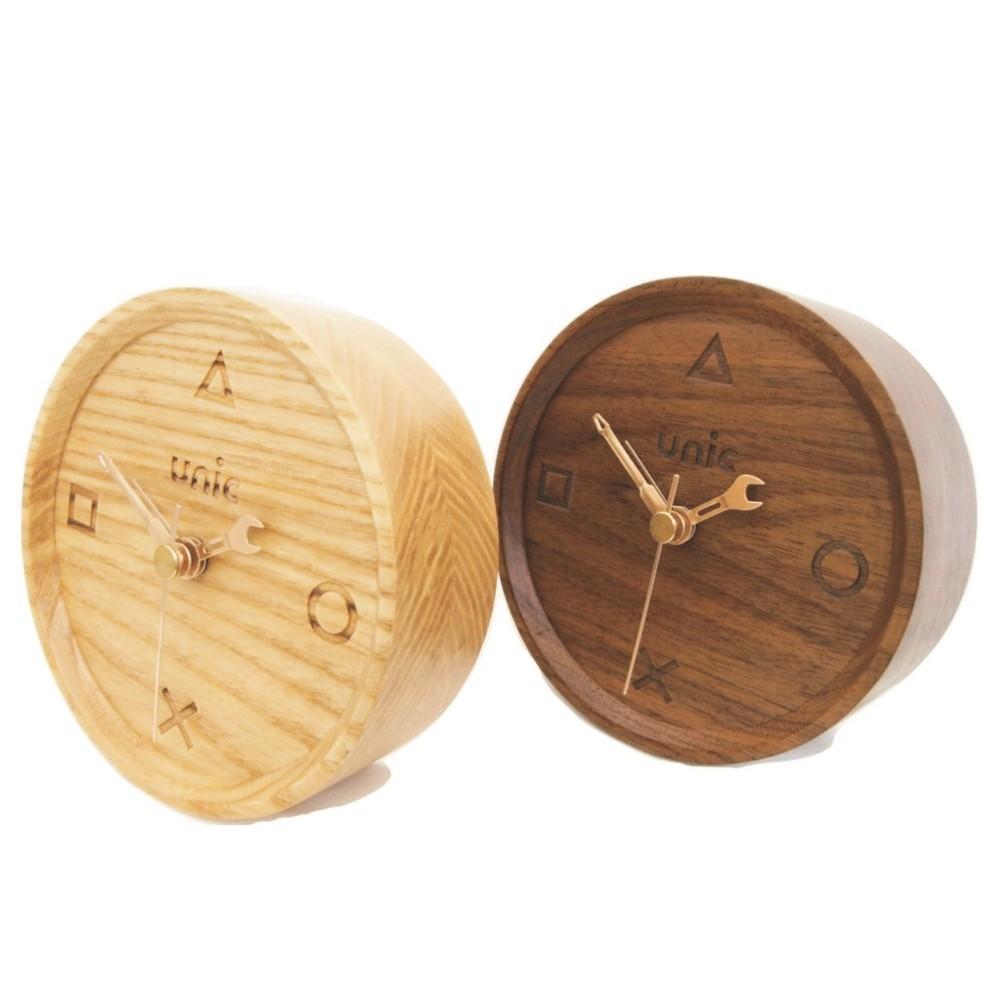 Unic|極簡風原木時計