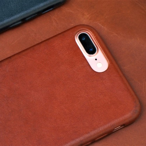 Unic|真皮手機殼 iphone7 plus/ iphone8 plus保護殼