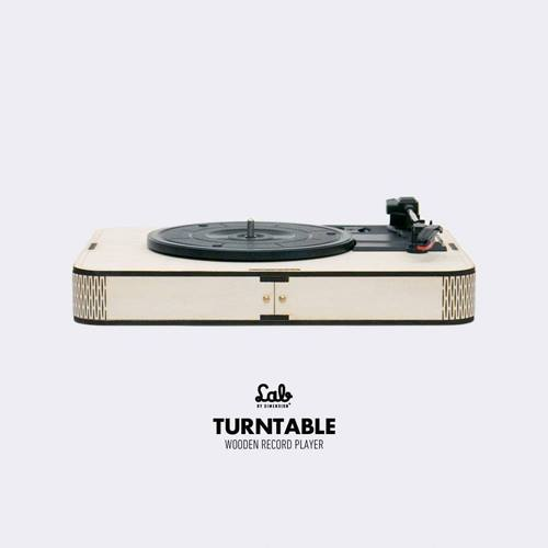 LAB by Dimension Plus | Turntable 黑膠唱機