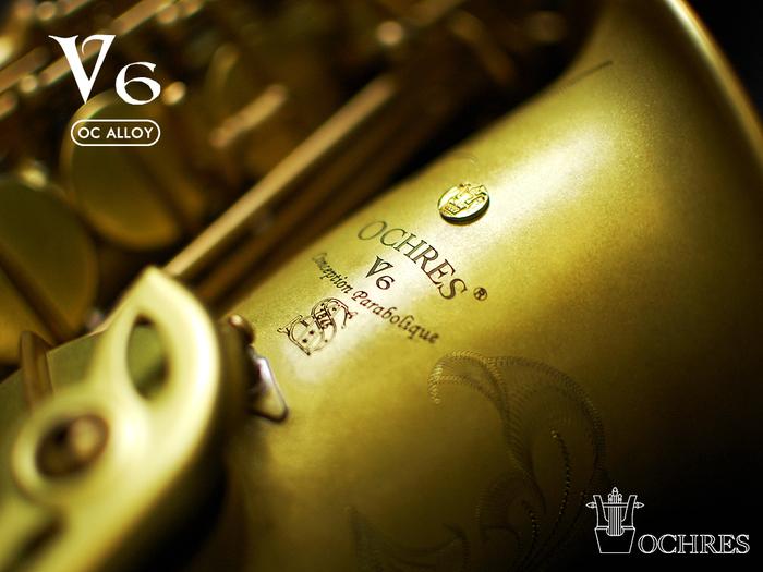OCHRES|V6 專業型─中音薩克斯風(OCA-V6M)
