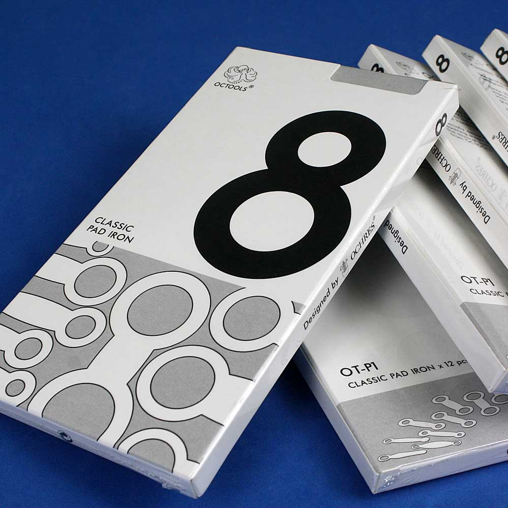 美國OCTOOLS章魚牌|樂器廠級專業薩克斯風維修工具-8號皮墊熨斗組