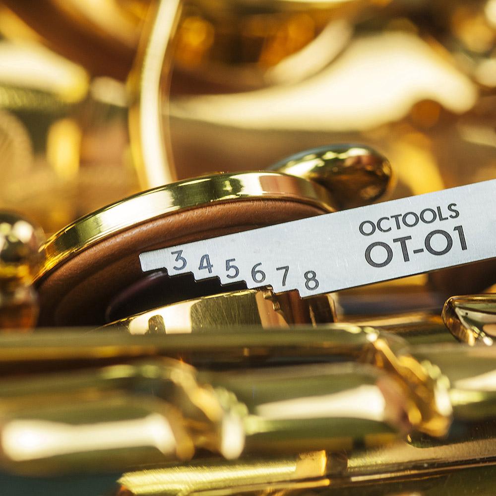 美國OCTOOLS章魚牌 專業樂器維修調整工具-薩克斯風#4號開度調整工具組