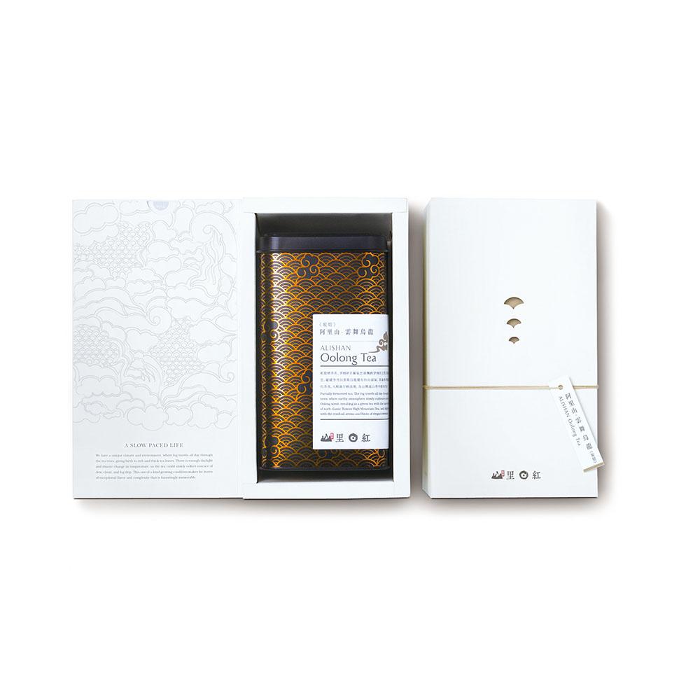 山里日紅|雲舞炭焙烏龍-150g/盒
