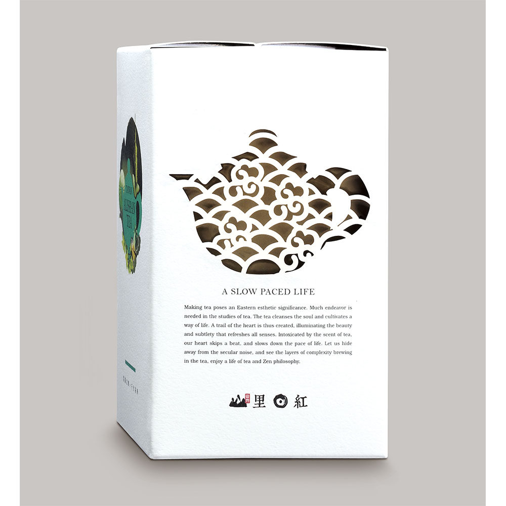 山里日紅|新景烏龍-4g散茶10入裝/盒